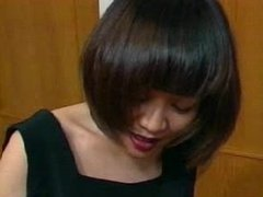 asian girl headscissor in pantyhose