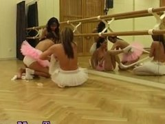 Hot brunette masturbating and pale blonde teen masturbates Hot ballet