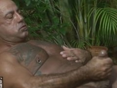 Tatto Hunk Plays With His Ass and Cock