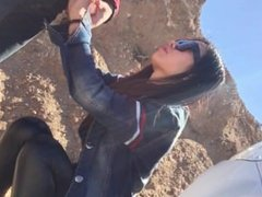Chinese Girl Fucked While Camping (Homemade)