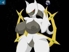Pokemon hentai: arceus edition