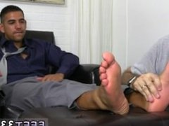 Gay porn videos of sexy men first time Jake Torres Gets Foot Worshiped &