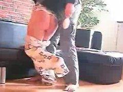 spanked in her