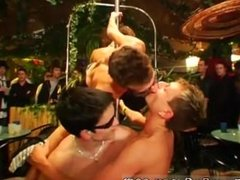 Gays group sex in various position porno movieture and group wanking men