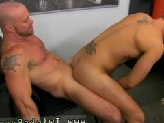 Gay bicep kissing and gay old man having outdoor sex The boy share their