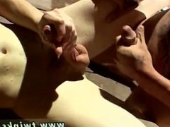 Gay hairy chest sex big penis movies full length 4-Way Smoke Orgy!