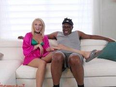 4K Tiffany Watson Takes the Biggest 12 inch interracial black cock