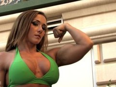 muscle girl arms