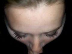 Sloppy head in public at night