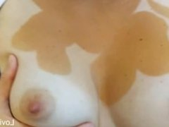 Play with my perky tits spit on my puffy nipples and fuck them lovingkitty