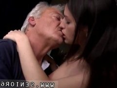 Girl and old men licking young pussy Horny senior Bruce catches sight of