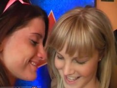 Skinny blonde teen hd first time Sexy young lesbians
