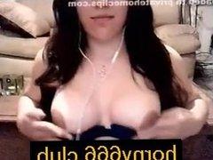 fitness girl smokes eciggie on webcam on horny666.club