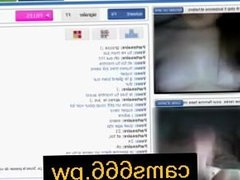 Romanian babe masturbating on webcam part 2 on cams666.pw
