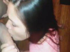 gorgeous amateur brunette teen pro blowjob skills