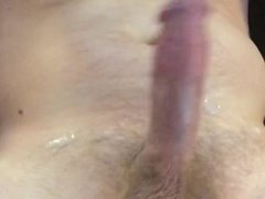 Shaking Cum Out of My Cock