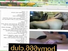 Sexy LittleMiss with Pure White Ssin rides Dildo on Cam on horny666.club