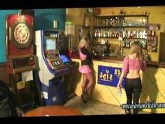 Lap dance beatdown