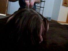 Gal being hogtied & tickled!
