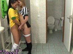 Teen humping and mature brunette big tits teacher Brazilian player