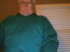 Hot daddy straight show and stroke webcam