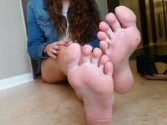 Soles on the floor