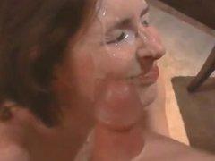 whore neighbor takes heavy facial