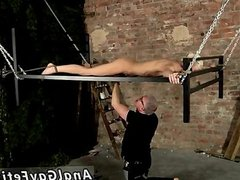 Sexy gay guys in dirty bondage sex action