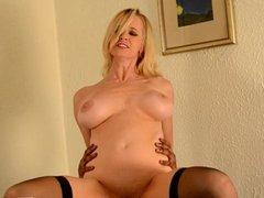 Hot mom Tabitha devours BBC