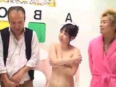 Japanese gameshow dad daughter at HornBunny