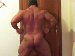 Big Jack Bodybuilder - Content Shape Posing With Nude Part 2