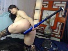 Extreme Self Masturbation with Hardcore star Nikki Ferrari