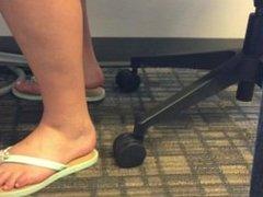 flip flop dangle in class