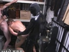 Fetish wrestling gay Dungeon tormentor with a gimp