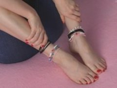 Luna Vera Tiny Little Soft Feet Worship Instructions