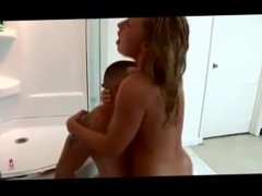 A guy decides to take a naughty shower with his sister ;)