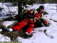 Army men gone wild gay porn Roma Smokes In The Snow