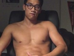 Asian muscle think webcam