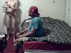 prostitue on hidden cam