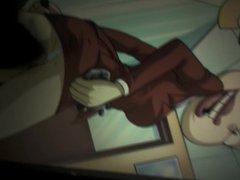 Gozando muito na mae da Angelica do anime os anjinhos
