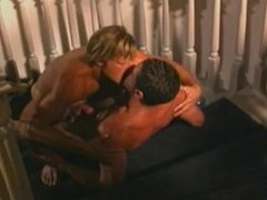 Hot and Passionate Sex on Stairs