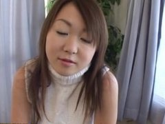Knock-out Yumi Aida gets her big tits and pussy played with toys