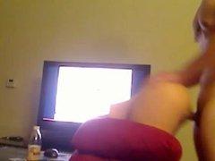 Hot horny asian guy fuck blonde white girl pussy sex porn 5