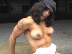 Lucinda Witte White Corset Topless Video Part 4