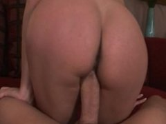 Amateur girl harshly penetrated by huge cock