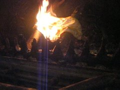 burnning not panties sister