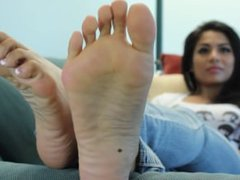 Gia's Candid Stinky Soles