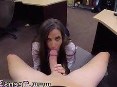 Post handjob For a lady acting bashful