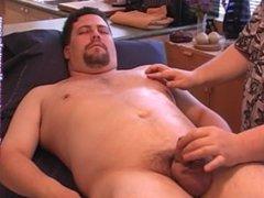 Sexy chub massage