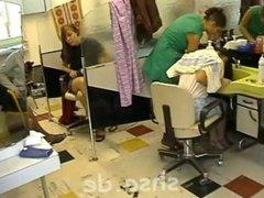 Forward Hair Wash In Salon 4